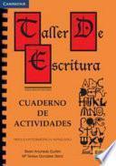libro Taller De Escritura: Cuaderno De Actividades