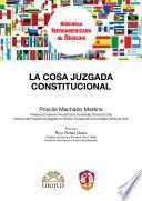 libro La Cosa Juzgada Constitucional