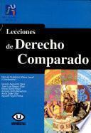 libro Lecciones De Derecho Comparado