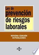 libro Ley De Prevención De Riesgos Laborales