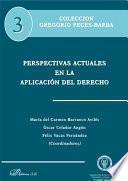 libro Perspectivas Actuales En La Aplicación Del Derecho