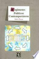 libro Regímenes Políticos Contemporáneos