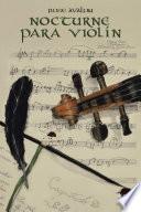 libro Nocturne Para Violín