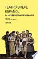libro Teatro Breve Español