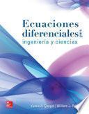 libro Ecuaciones Diferenciales Para Ingeniería Y Ciencias (1a. Ed.)