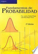 libro Fundamentos De Probabilidad