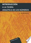 libro Introducción A La Teoría Analítica De Los Números