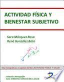 libro Actividad Física Y Bienestar Subjetivo
