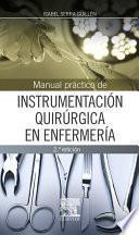 libro Manual Práctico De Instrumentación Quirúrgica En Enfermería