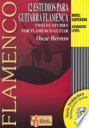 libro 12 Estudios Para Guitarra Flamenca