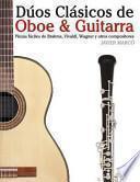 libro Dúos Clásicos De Oboe And Guitarra
