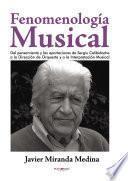 Fenomenología Musical