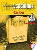 libro Primeras Lecciones Cajon