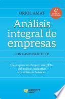 libro Analisis Integral De Empresas Ne.