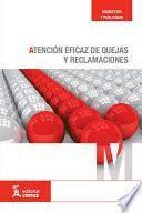 libro Atención Eficaz De Quejas Y Reclamaciones