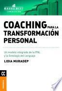libro Coaching Para La Transformación Personal
