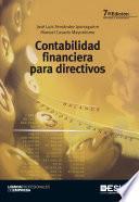 libro Contabilidad Financiera Para Directivos