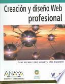 libro Creacion Y Diseno Web Profesional / Professional Web Design: Techniques And Templates