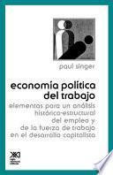 libro Economía Política Del Trabajo