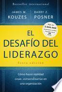 libro El Desafio Del Liderazgo