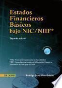 libro Estados Financieros Básicos Bajo Nic/niif