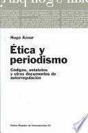 libro Ética Y Periodismo