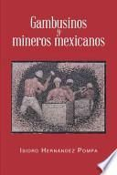 libro Gambusinos Y Mineros Mexicanos