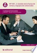 libro Gestión De La Fuerza De Ventas Y Equipos De Comerciales. Comt0411