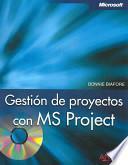 libro Gestión De Proyectos Con Ms Project