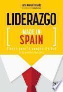 libro Liderazgo Made In Spain
