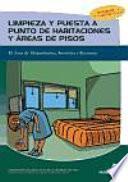 libro Limpieza Y Puesta A Punto De Habitaciones Y áreas De Pisos