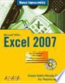 libro Manual Imprescindible De Excel 2007