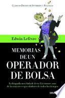 libro Memorias De Un Operador De Bolsa