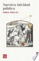 libro Nuestra Laicidad Publica = Our Public Secularism