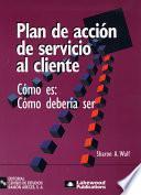 libro Plan De Acción De Servicio Al Cliente