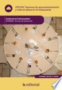 libro Sistemas De Aprovisionamiento Y Mise En Place En El Restaurante. Hotr0608