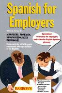 libro Spanish For Employers