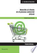 libro Uf0349 - Atención Al Cliente En El Proceso Comercial