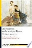 libro Así Vivieron En La Antigua Roma