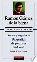 libro Biografías De Pintores
