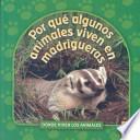 libro Donde Viven Los Animales / Where Animals Live