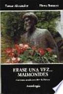 libro Erase Una Vez   Maimónides