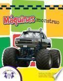 libro Máquinas Monstruo