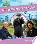 libro Mujeres En Las Ciencias (women In Science)