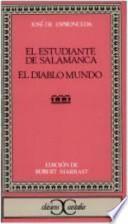 libro El Estudiante De Salamanca ; El Diablo Mundo