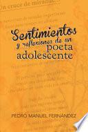 libro Sentimientos Y Reflexiones De Un Poeta Adolescente