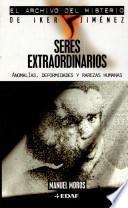 libro Seres Extraordinarios