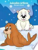 libro Animales árticos Libro Para Colorear 1