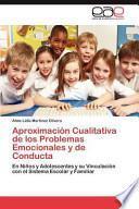 libro Aproximación Cualitativa De Los Problemas Emocionales Y De Conducta