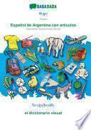 libro Babadada, Tibetan (in Tibetan Script) - Español De Argentina Con Articulos, Visual Dictionary (in Tibetan Script) - El Diccionario Visual